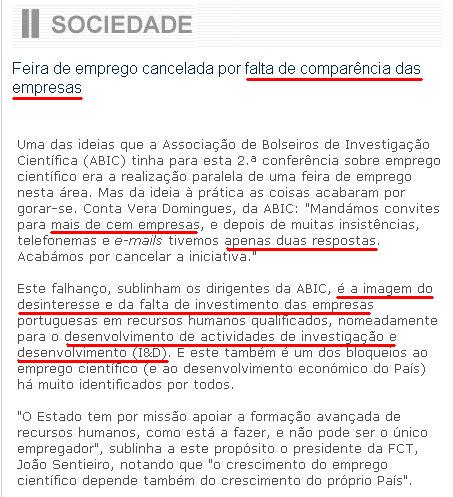 FEIRA DE EMPREGO TECNOLÓGICO