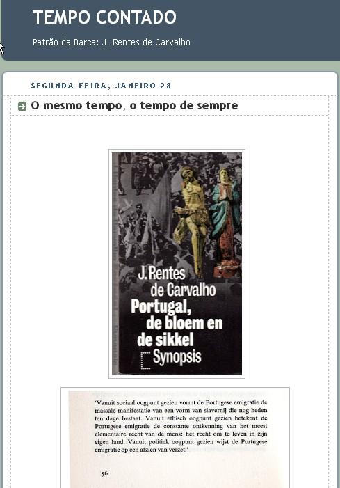 JOSE RENTES DE CARVALHO - EMIGRACAO